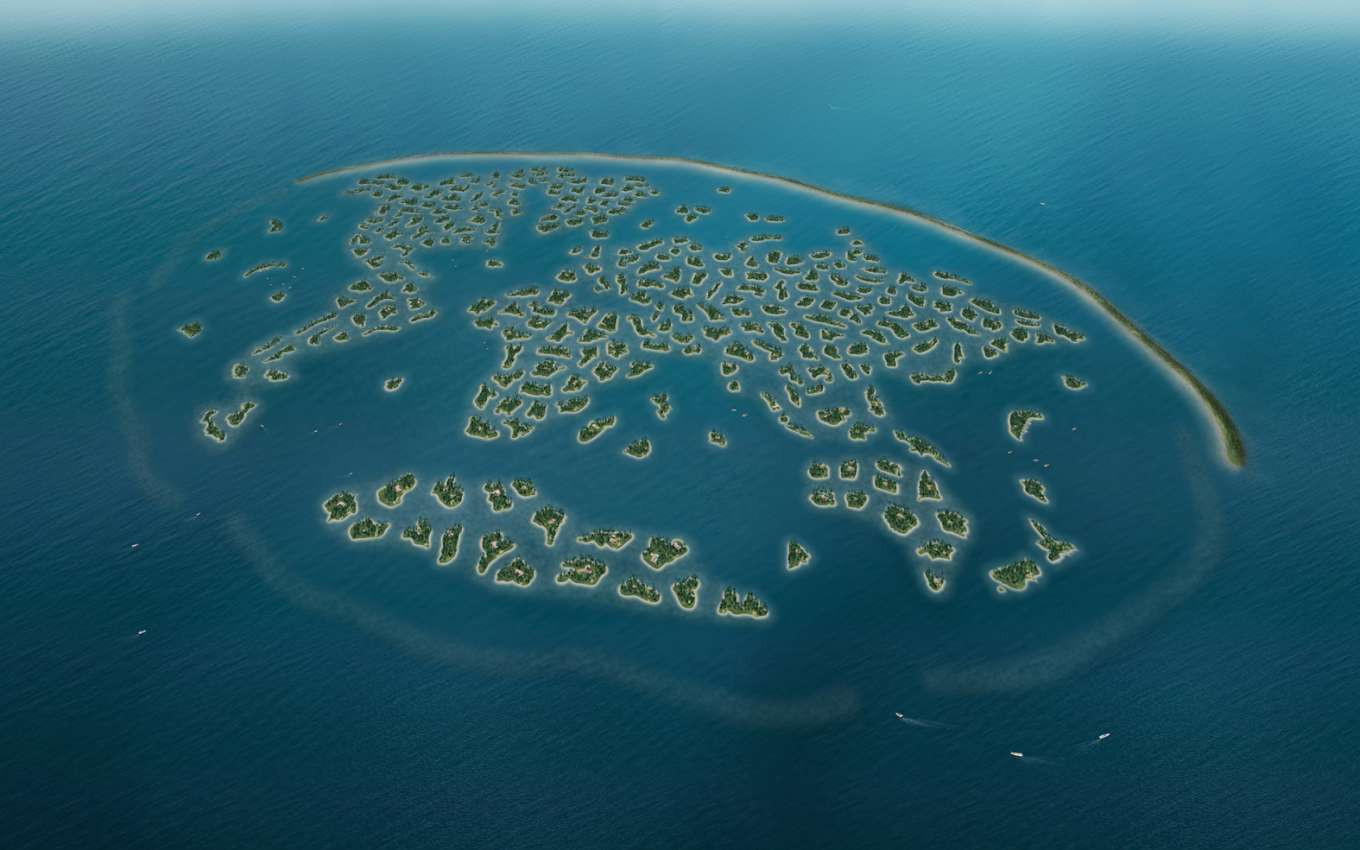 THE WORLD ISLANDS Archipelago