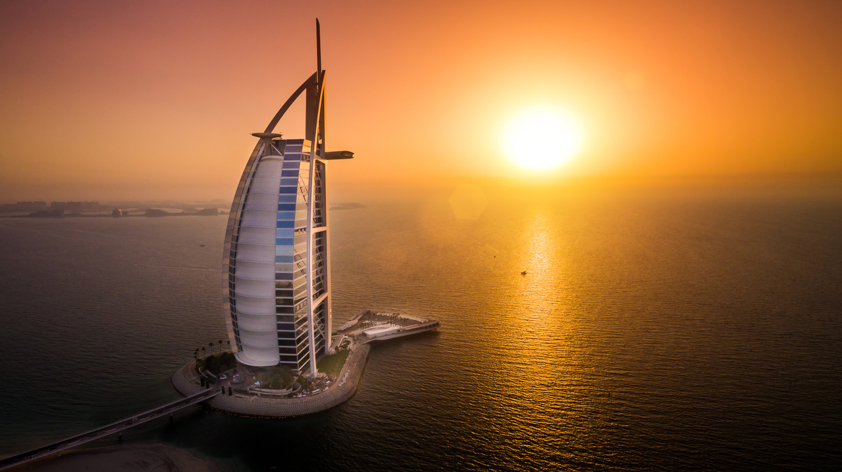 BURJ AL ARAB Luxury hotel with posh dining & beach