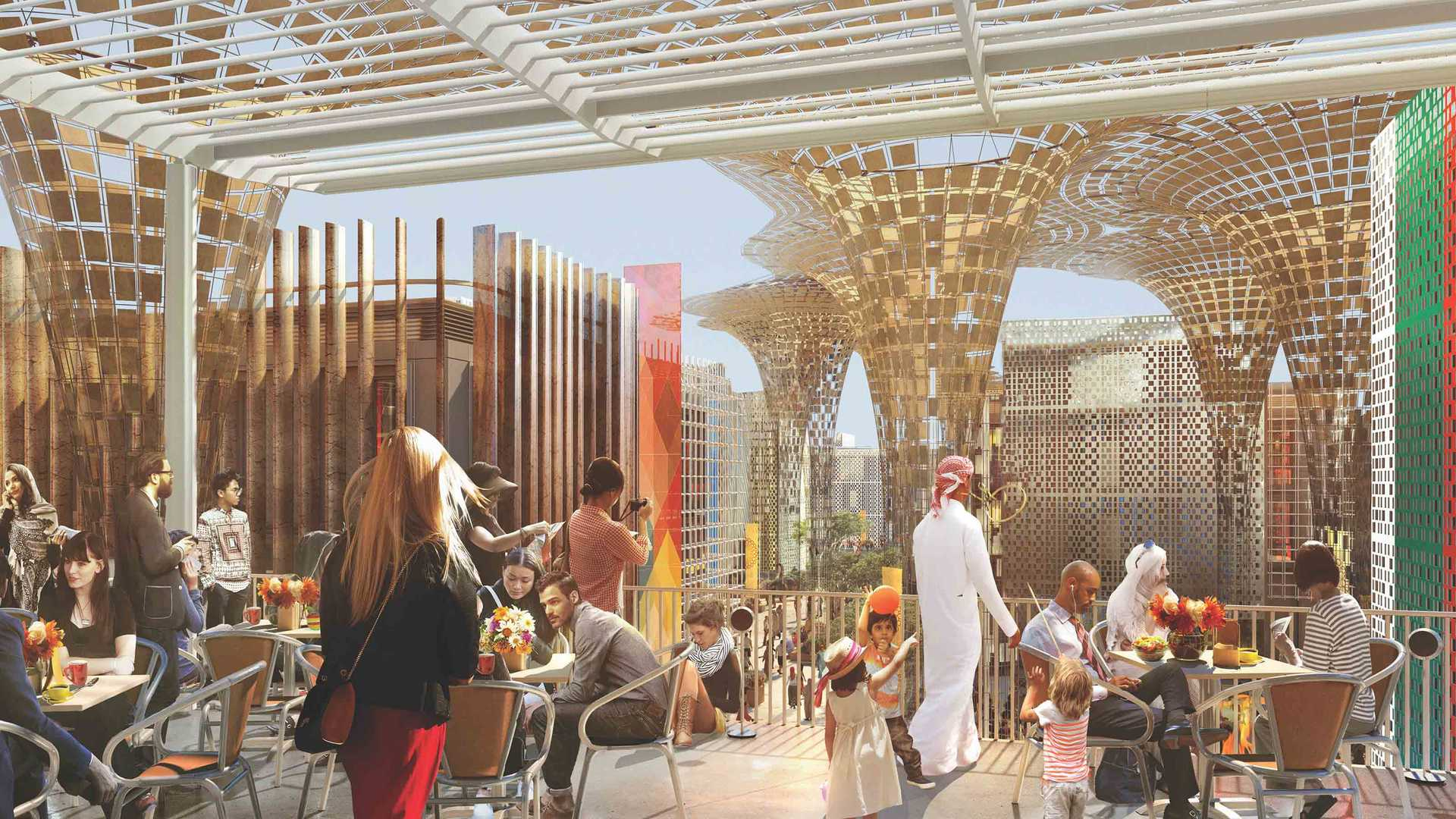 EXPO2020 Buildingterrace