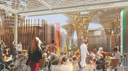 EXPO2020 Buildingterrace