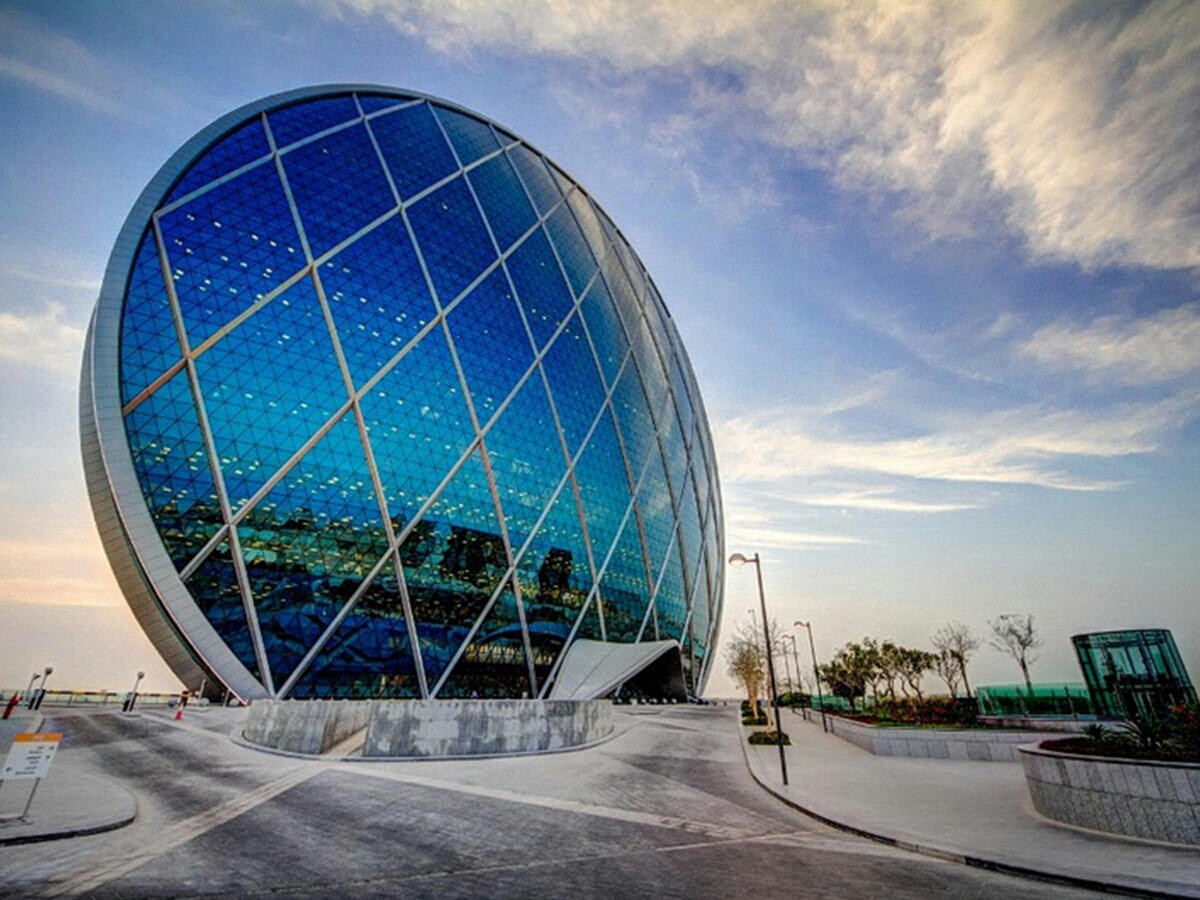 ALDAR HEADQUARTERS BUILDING World's first circular skyscraper