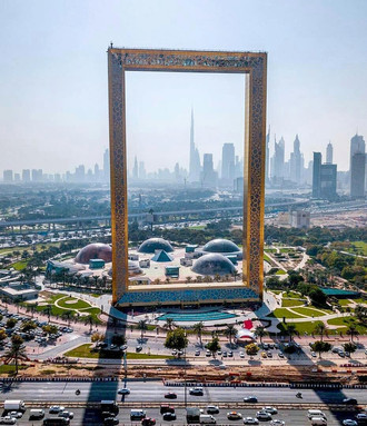 DUBAI FRAME Iconic picture frame building with views