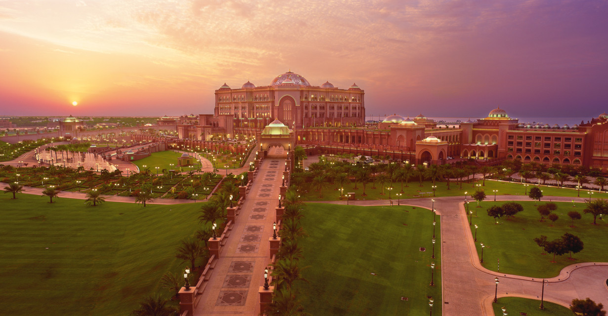 EMIRATES PALACE Palatial hotel with a private marina