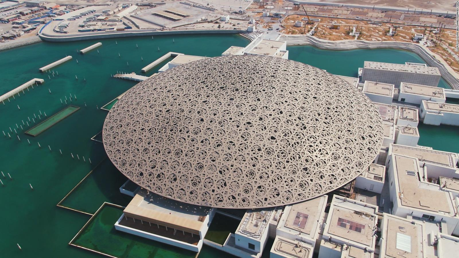 LOUVRE ABU DHABI Unique museum for international artwork