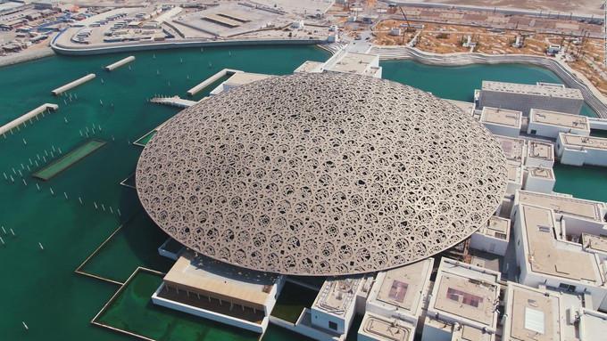 LOUVRE ABU DHABI Unique museum for international artwork