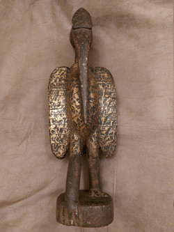 Antique Bird Sculpture: Attracting Blessings, Bringing Fertility