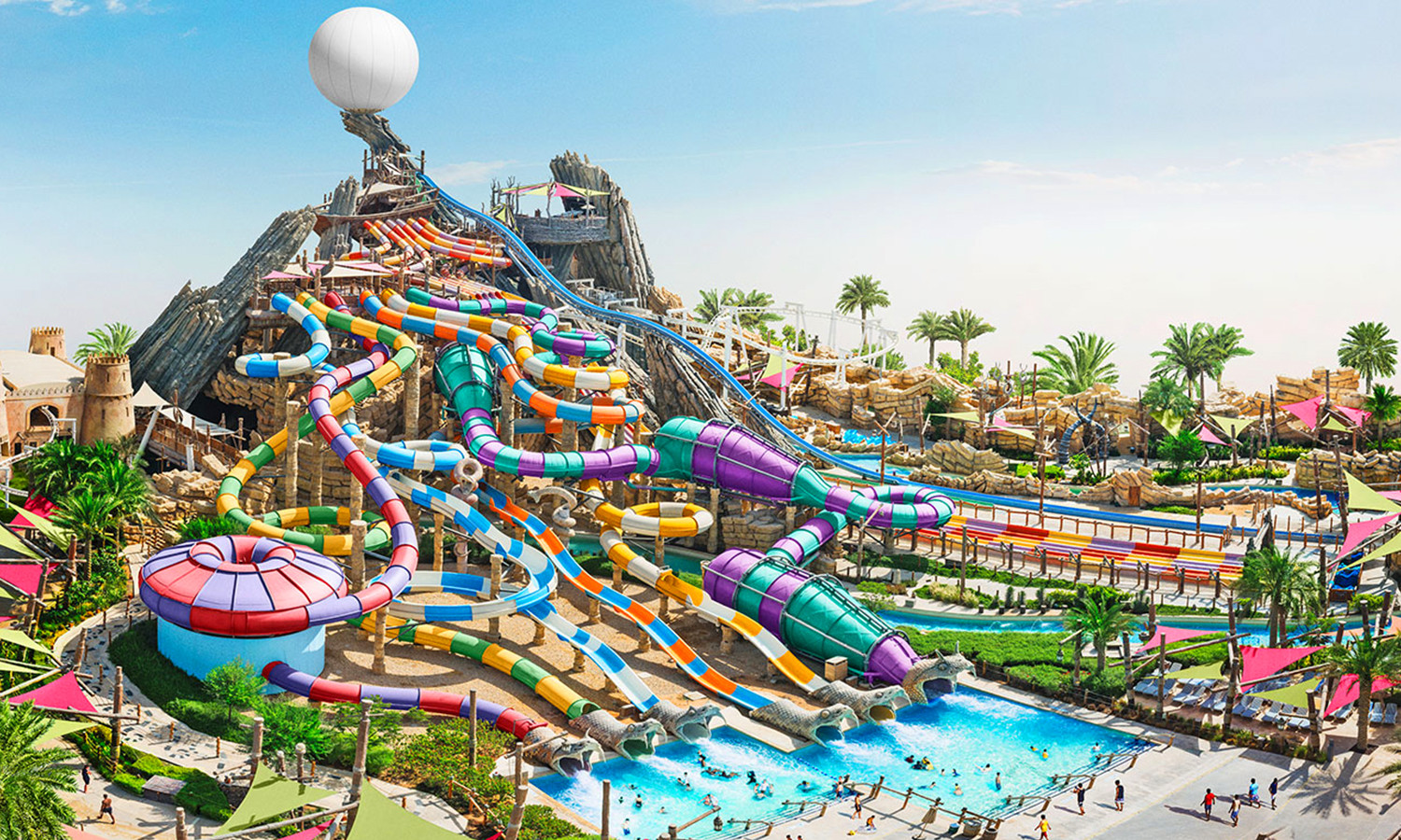 YAS WATERWORLD ABU DHABI Water park & family entertainment park