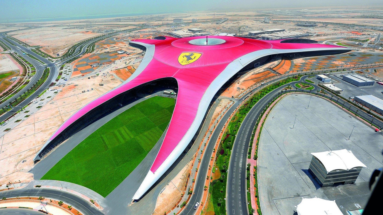 FERRARI WORLD ABU DHABI Motorsport-themed entertainment complex