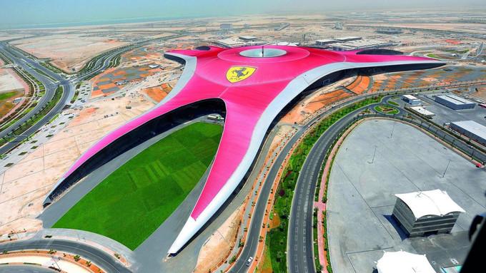 FERRARI WORLD ABU DHABI Motorsport-themed entertainment complex