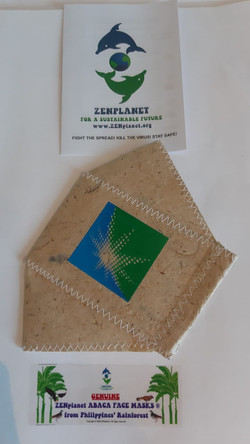 ZENplanet (2-PLY) Customizable Corporate Face Mask