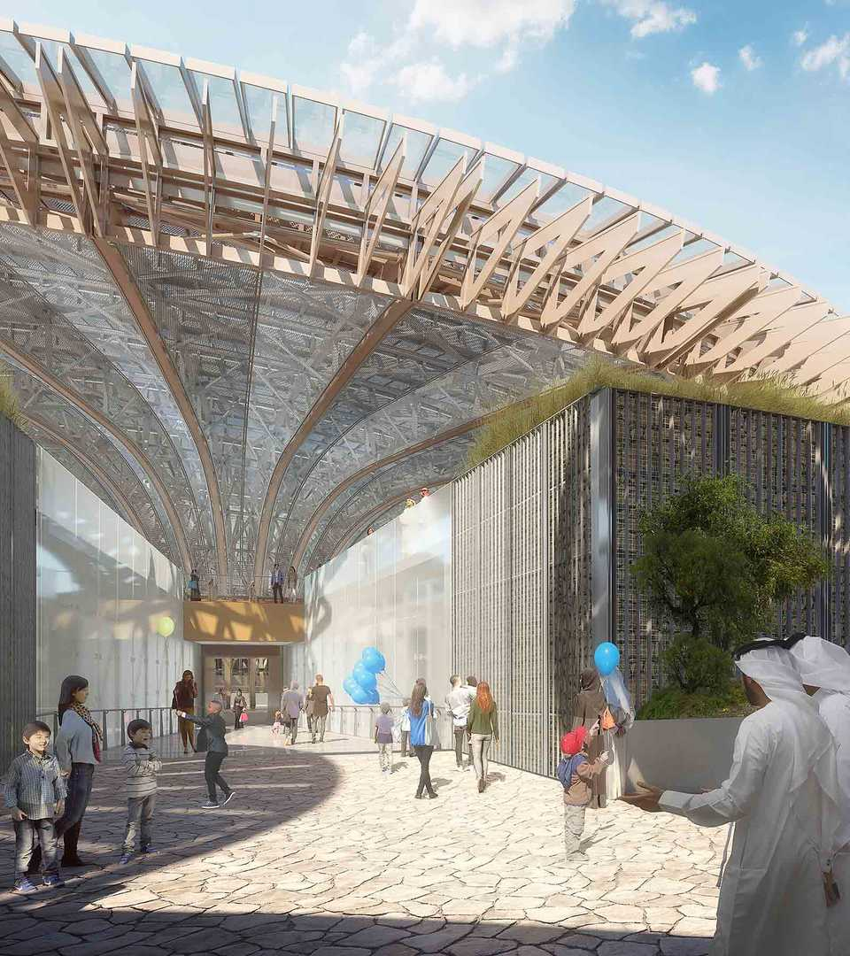 EXPO2020 Pavilion Sustainability