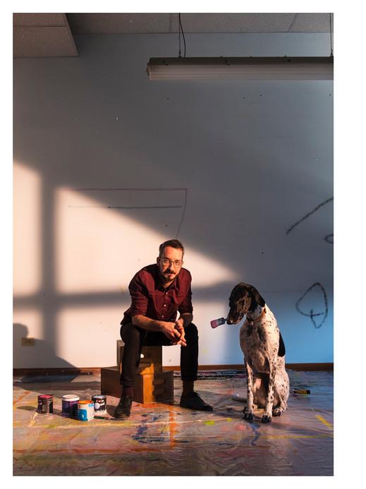 Giulio & Gianna nello studio a Coreggio.