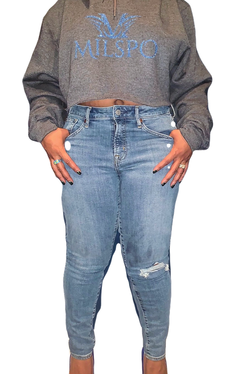 Women's Crop Top Sweatshirt