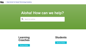We Are Releasing A Help Portal For HTA