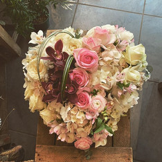 Un hommage _#fleurs #flowers #coeur #com