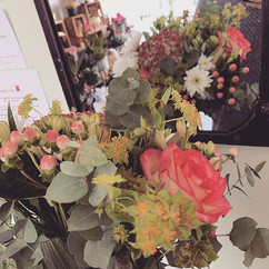 Bouquet du jour _#fleurs #fleuriste #eng