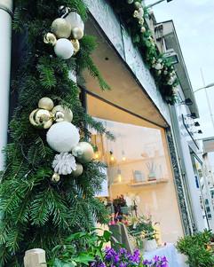 La décoration de Noël s'installe tranqui
