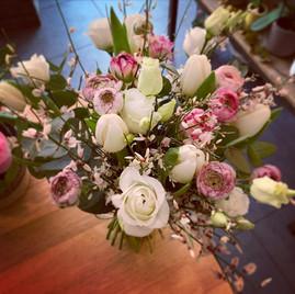 Le bouquet de mariée du week-end avec de