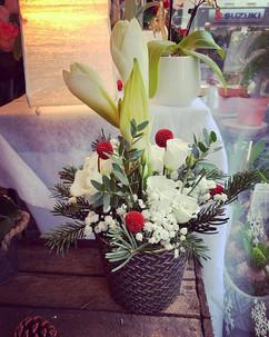 Centre de table 🤩_#fleurs #flowers #cen