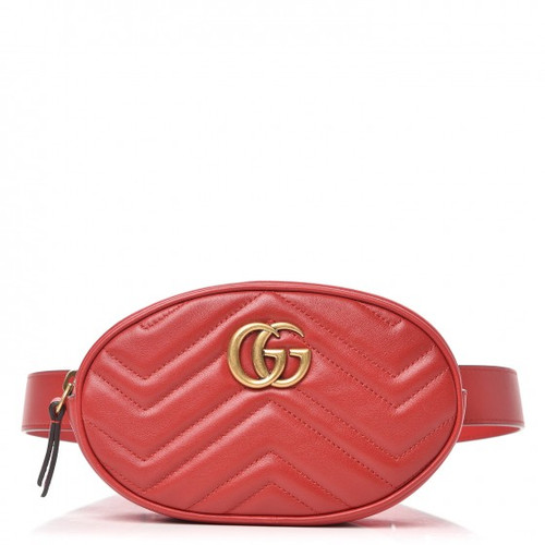 bfe7d6fe8f0a GUCCI GG Marmont Matelassé Leather Belt Bag