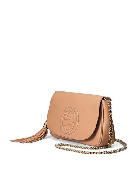 af462516061 Gucci Soho Chain strap Crossbody Leather Bag Medium