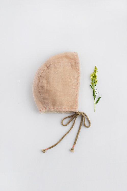 Rumi Newborn Bonnet Apricot