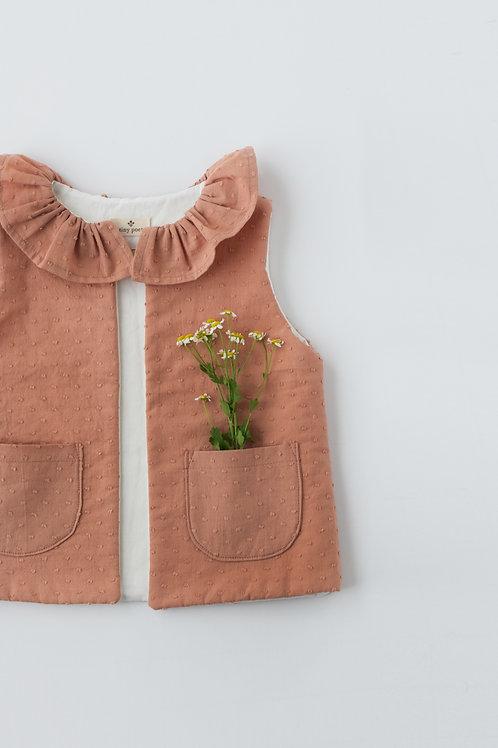 Edith Vest Dusty Rose | tiny poet + kdbird