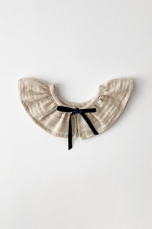 Edith Ruffle Collar Dove