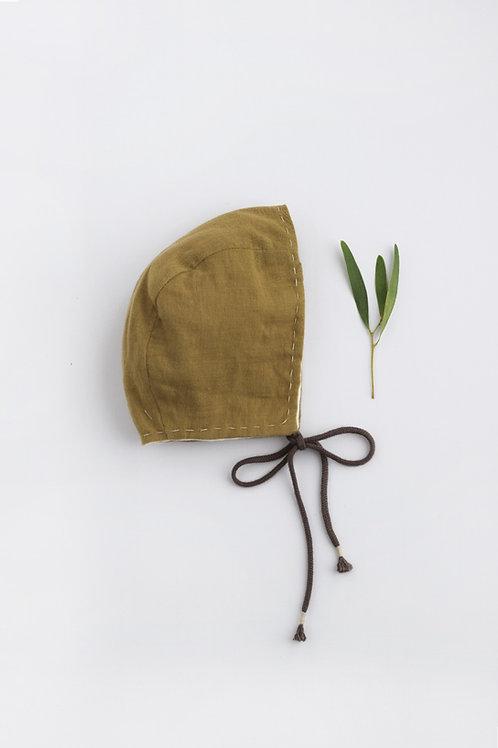 Rumi Newborn Bonnet Olive