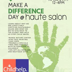 Make a Difference Day @ Haute Salon April 24th 12 - 4pm