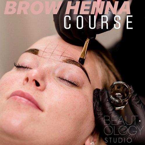 January 10th, 2021 - Brow Henna Course