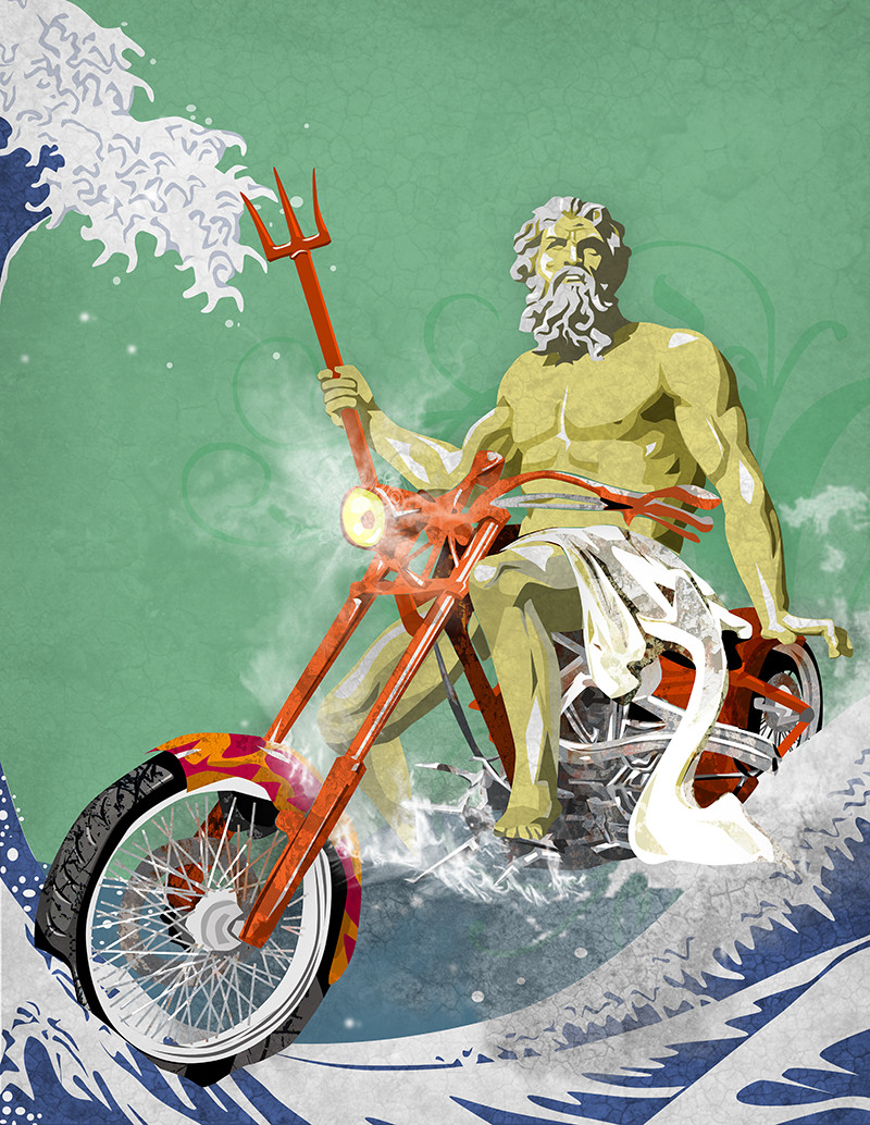 Gods on bikes
