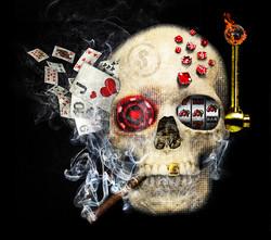 Casino Skull 04