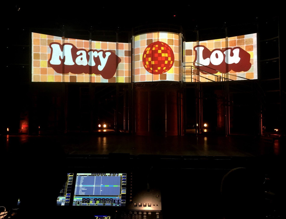 Mary Lou Video Art