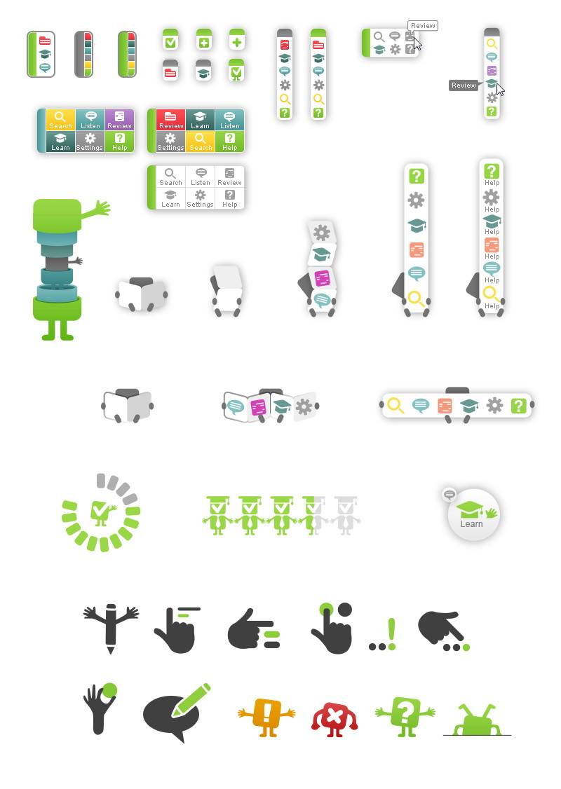 Ginger Software UI