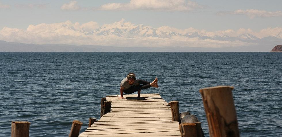 Claire - Ose Yoga - La Isla Del Sol, Bolivia