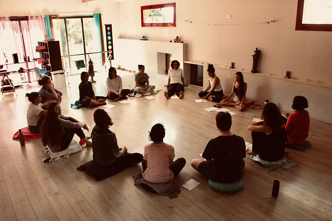 Weekend Yoga Ose - cercle