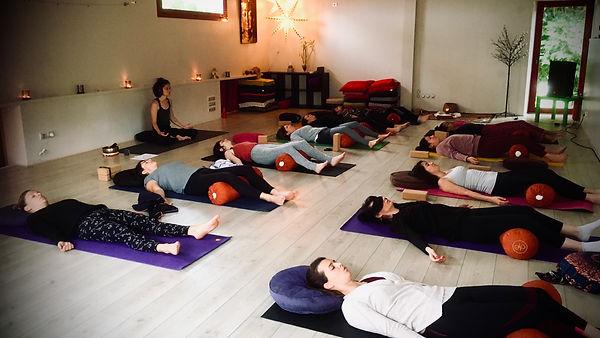 Yin yoga - Meysonniers