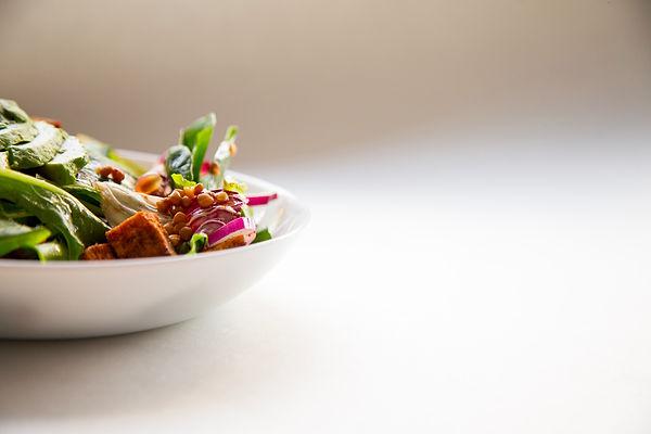Plat végétalien diététique
