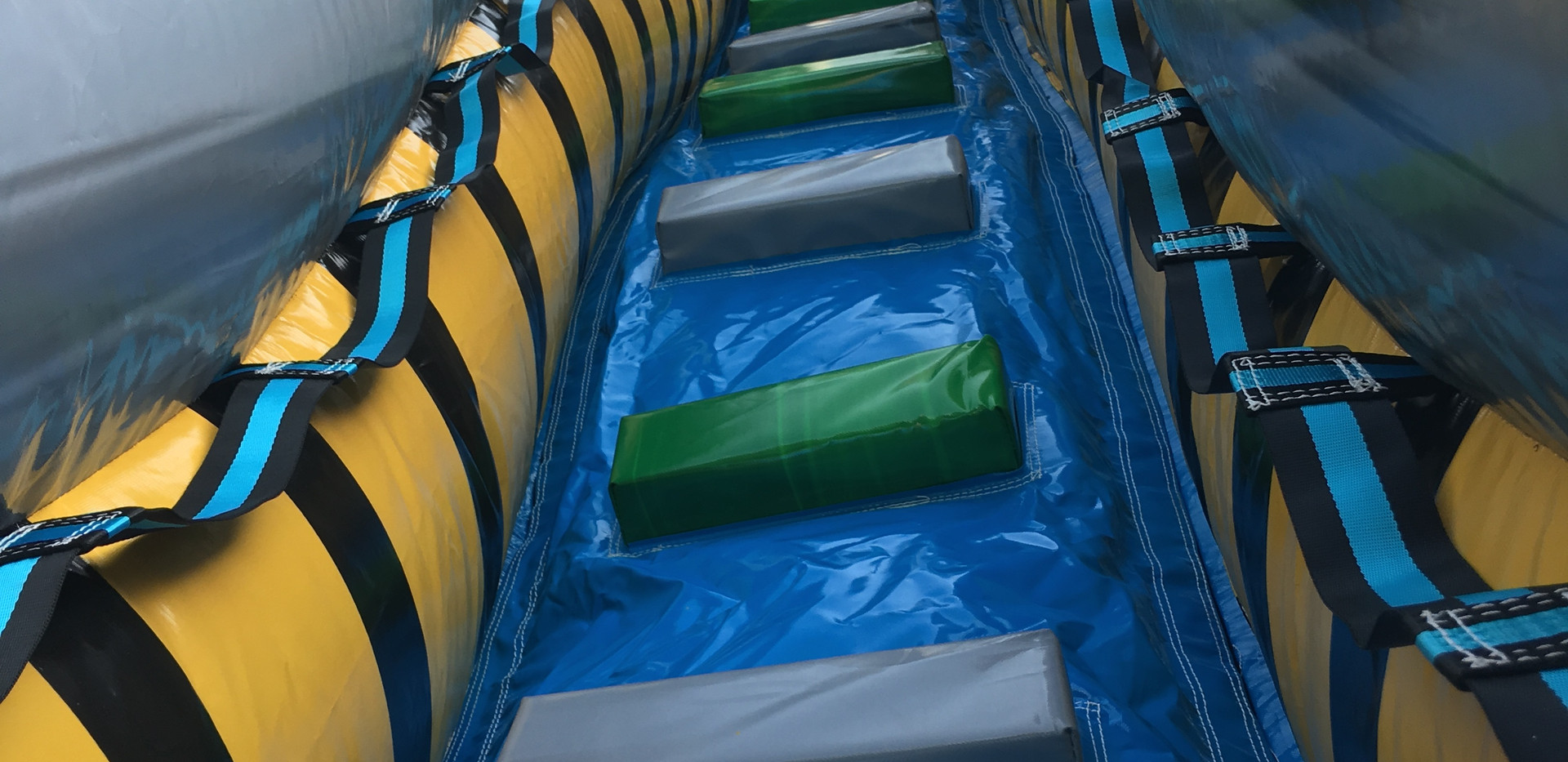 Fallout Inflatable Water Slide