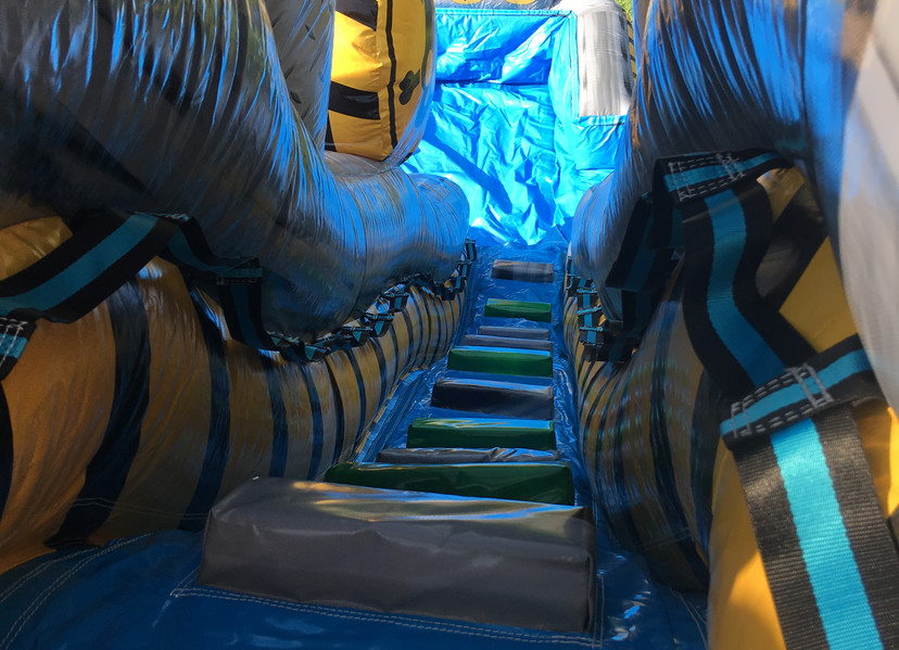 Fallout Inflatable Slide