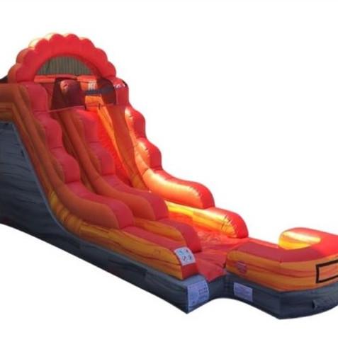 Lave Splash Inflatable Slide