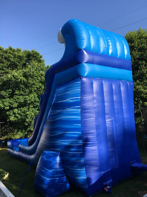 Tidal Wave Inflatable Slide