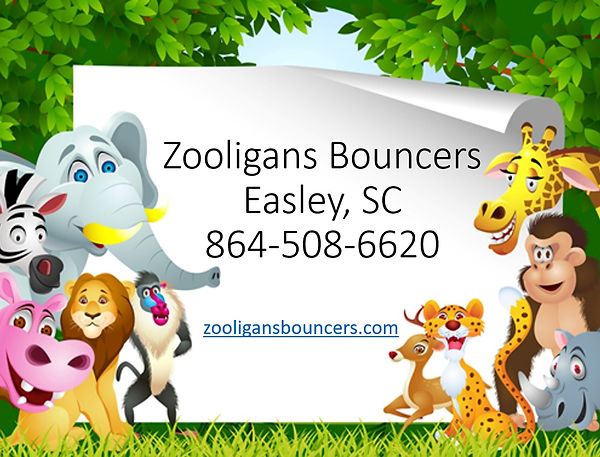 Contact Informaion for Zooligans Bouncers