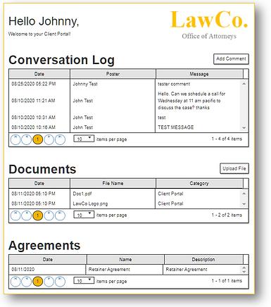 Law Firm Client Portal