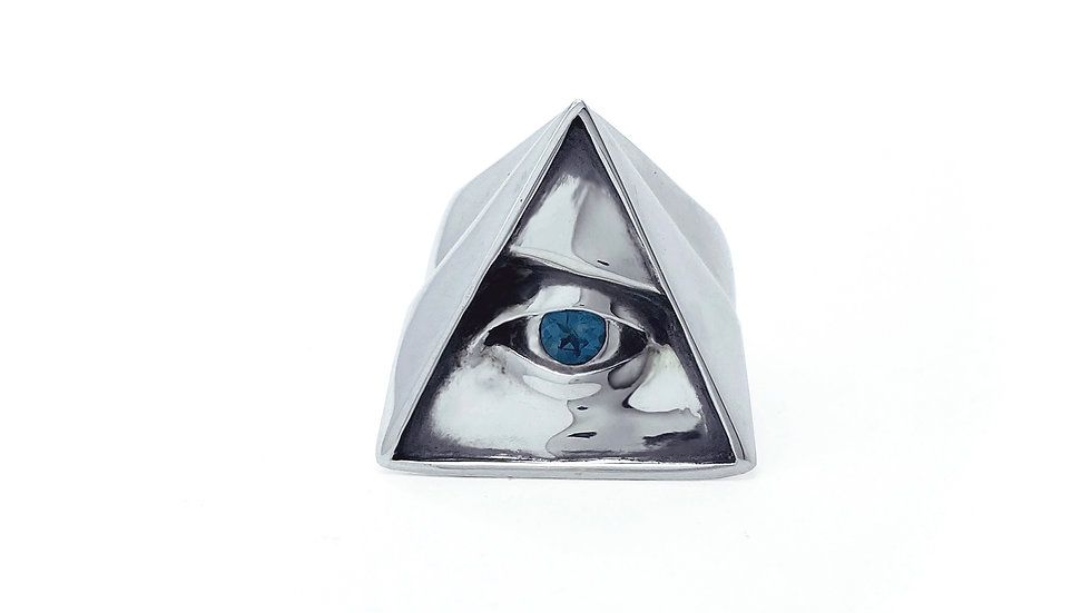 All Seeing Eye With Topaz
