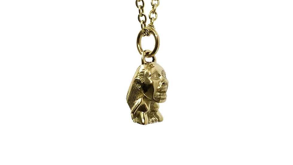Gold Idol Pendant