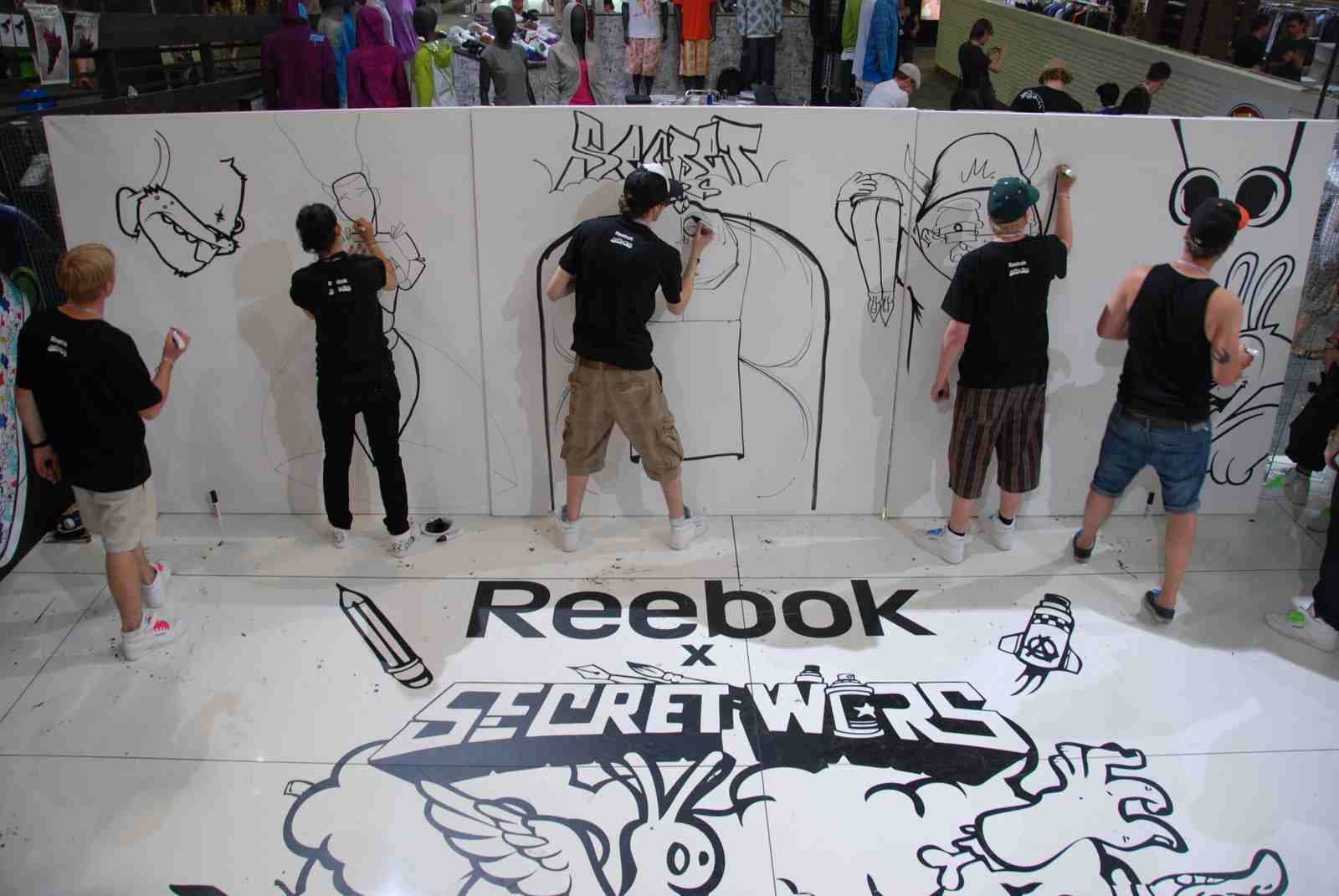 Reebok X Secret Wars