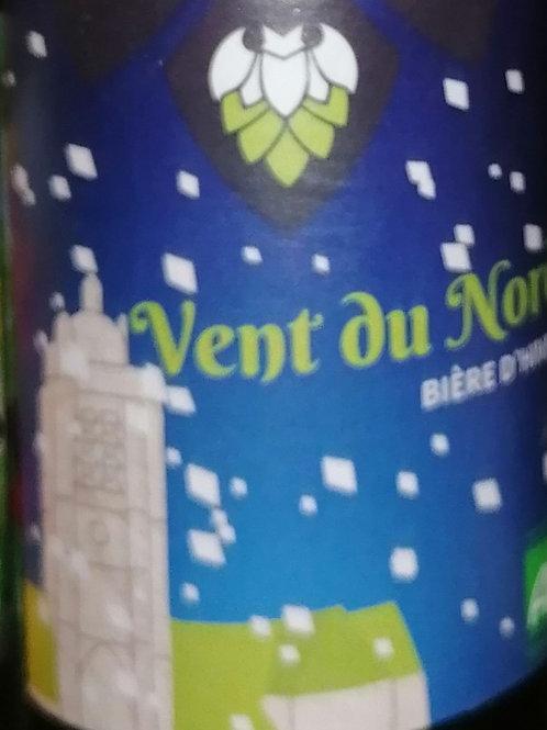 Bière blonde Vent du Nord de la Petite Brasserie Picarde 33 cl