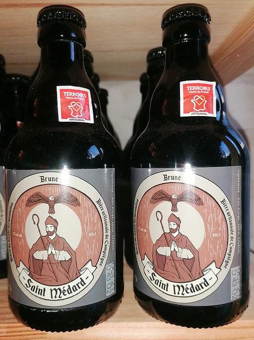 Bière brune Saint Médard 33 cl